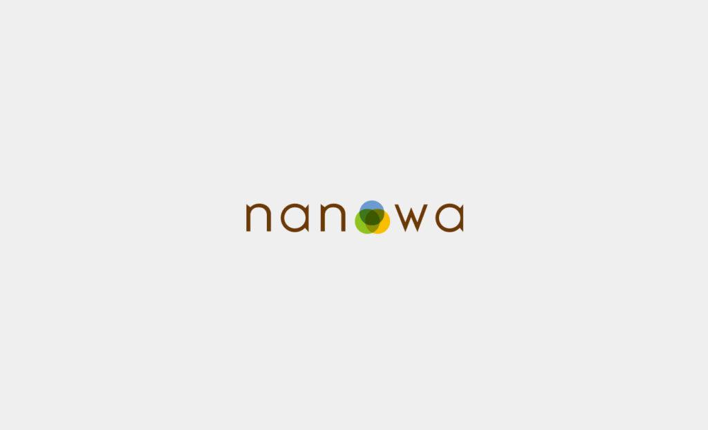 名張の素敵発見WEBマガジン 「nanowa (なのわ)」ロゴ